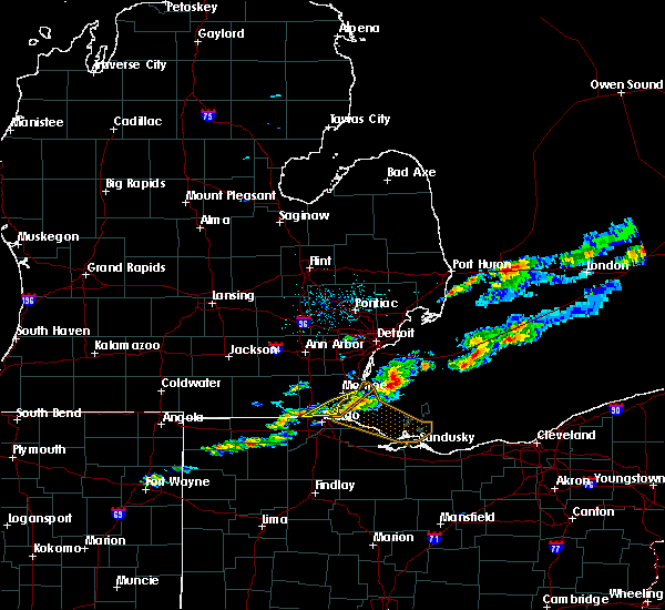 Radar Image for Severe Thunderstorms near Toledo, OH at 7/26/2018 3:17 PM EDT