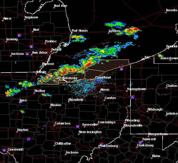 Radar Image for Severe Thunderstorms near Port Clinton, OH at 7/26/2018 4:47 PM EDT