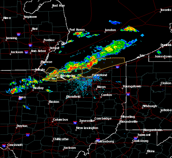 Radar Image for Severe Thunderstorms near Port Clinton, OH at 7/26/2018 5:06 PM EDT