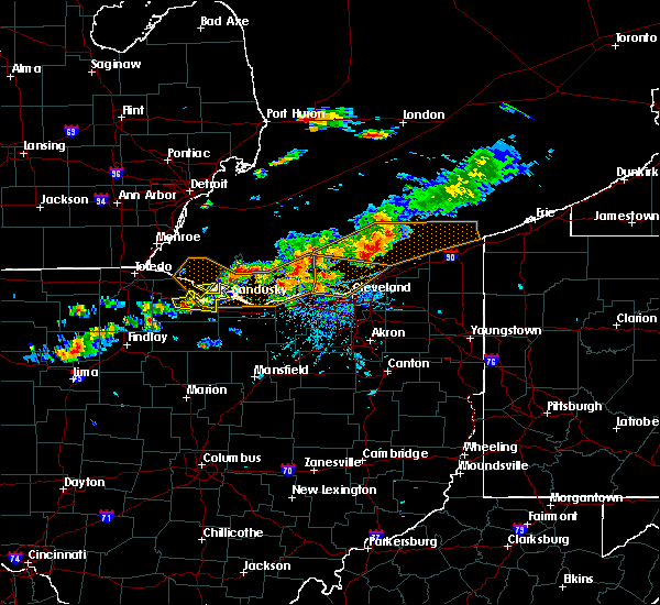 Radar Image for Severe Thunderstorms near Eastlake, OH at 7/26/2018 5:27 PM EDT