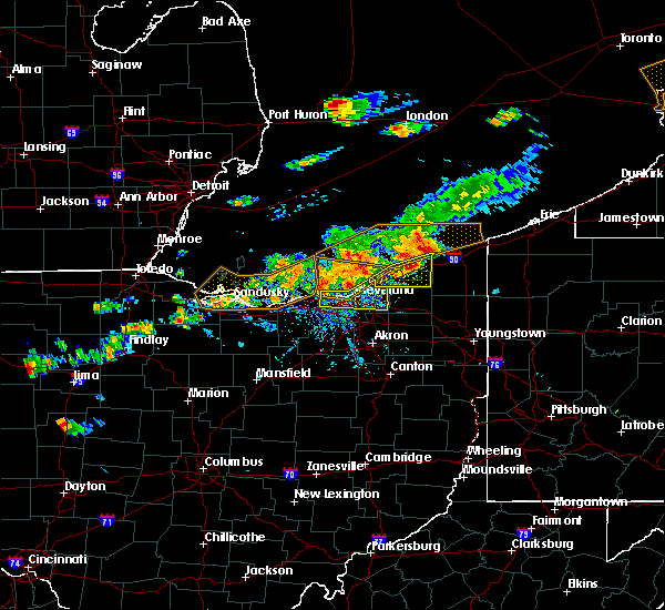Radar Image for Severe Thunderstorms near Mayfield, OH at 7/26/2018 5:53 PM EDT