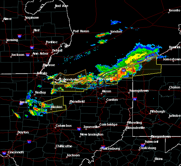 Radar Image for Severe Thunderstorms near Crestline, OH at 7/26/2018 6:44 PM EDT