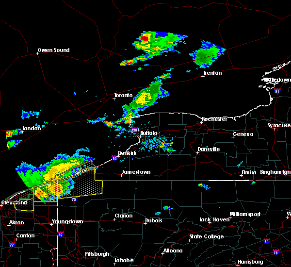 Radar Image for Severe Thunderstorms near Fairview, PA at 7/26/2018 6:44 PM EDT