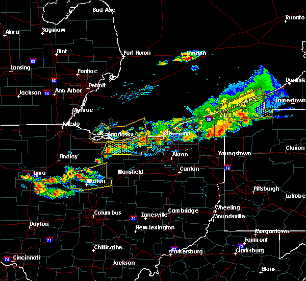 Radar Image for Severe Thunderstorms near Oberlin, OH at 7/26/2018 7:16 PM EDT
