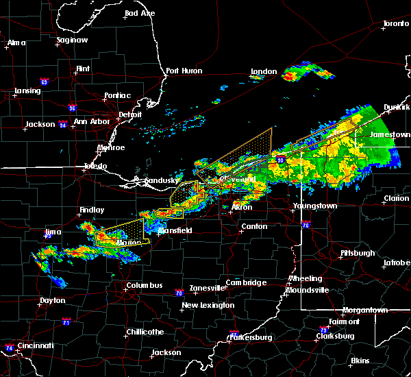 Radar Image for Severe Thunderstorms near Tiro, OH at 7/26/2018 8:14 PM EDT