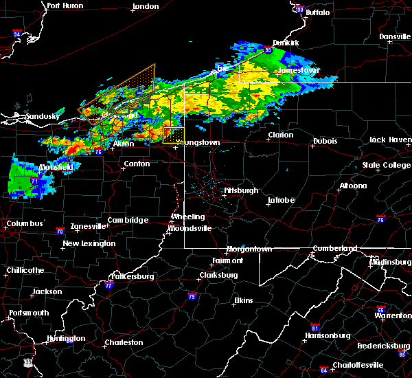 Radar Image for Severe Thunderstorms near Vienna Center, OH at 7/26/2018 8:41 PM EDT