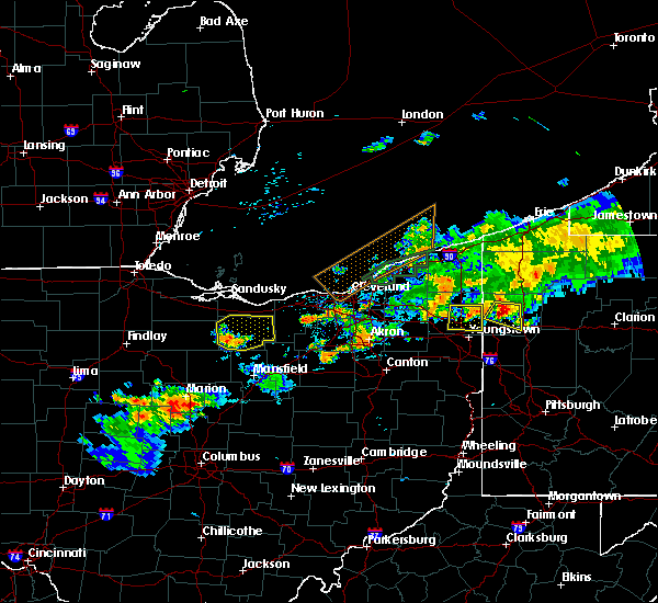 Radar Image for Severe Thunderstorms near New Haven, OH at 7/26/2018 9:25 PM EDT