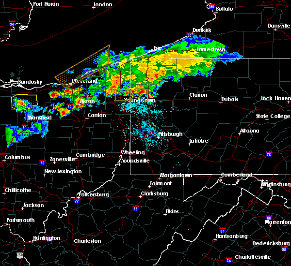 Radar Image for Severe Thunderstorms near Vienna Center, OH at 7/26/2018 9:29 PM EDT