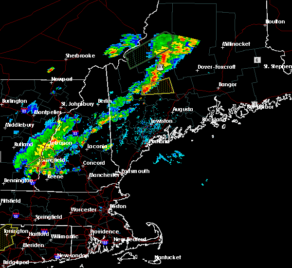 Radar Image for Severe Thunderstorms near Anson, ME at 7/27/2018 3:51 PM EDT