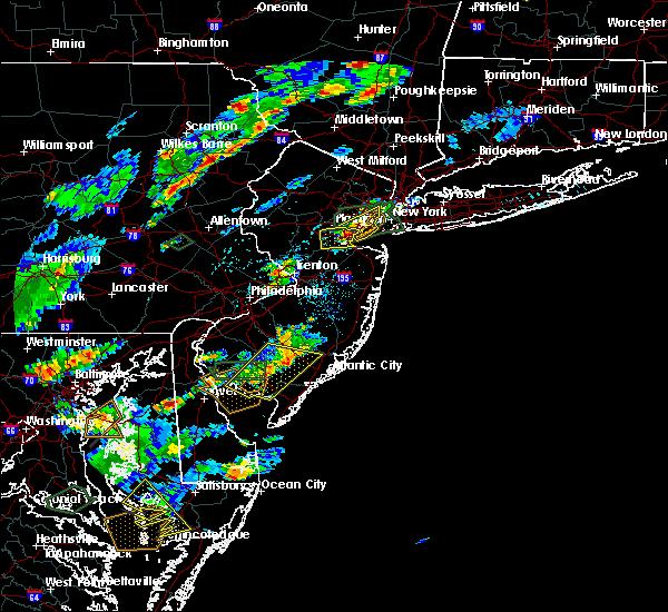 Radar Image for Severe Thunderstorms near Roselle Park, NJ at 7/27/2018 4:49 PM EDT