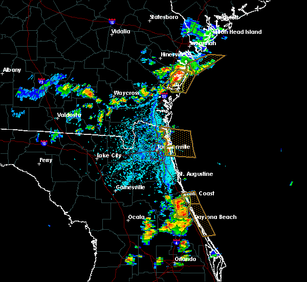 Radar Image for Severe Thunderstorms near Darien, GA at 7/27/2018 5:31 PM EDT