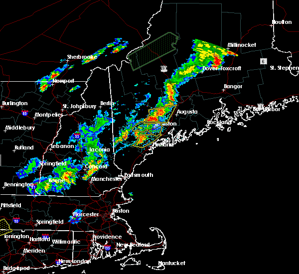 Radar Image for Severe Thunderstorms near Auburn, ME at 7/27/2018 5:38 PM EDT