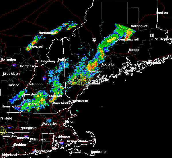 Radar Image for Severe Thunderstorms near Standish, ME at 7/27/2018 5:55 PM EDT