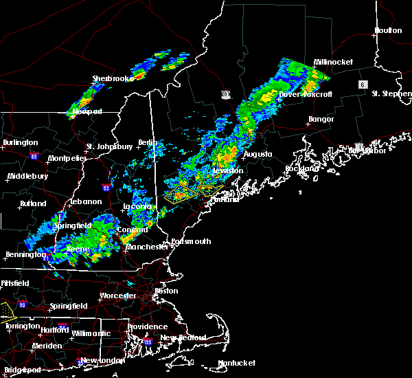 Radar Image for Severe Thunderstorms near Gray, ME at 7/27/2018 6:02 PM EDT
