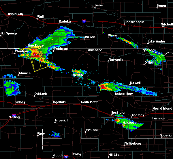 Radar Image for Severe Thunderstorms near Clinton, NE at 7/27/2018 8:28 PM MDT
