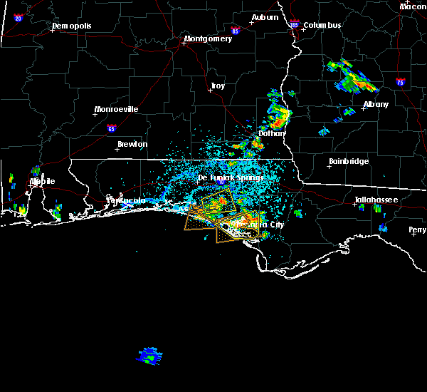 Radar Image for Severe Thunderstorms near Lynn Haven, FL at 7/28/2018 2:42 PM CDT