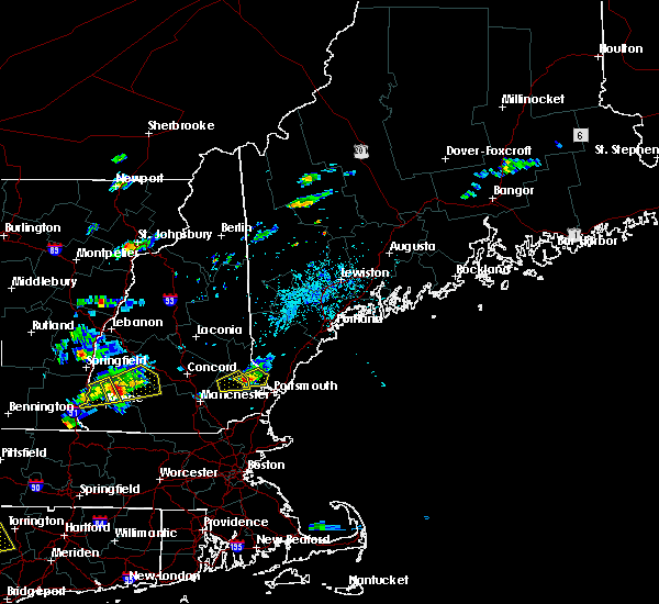 Interactive Hail Maps - Hail Map for Durham, NH on