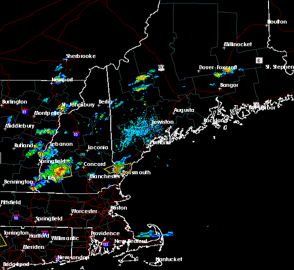 Radar Image for Severe Thunderstorms near South Eliot, ME at 7/28/2018 4:00 PM EDT