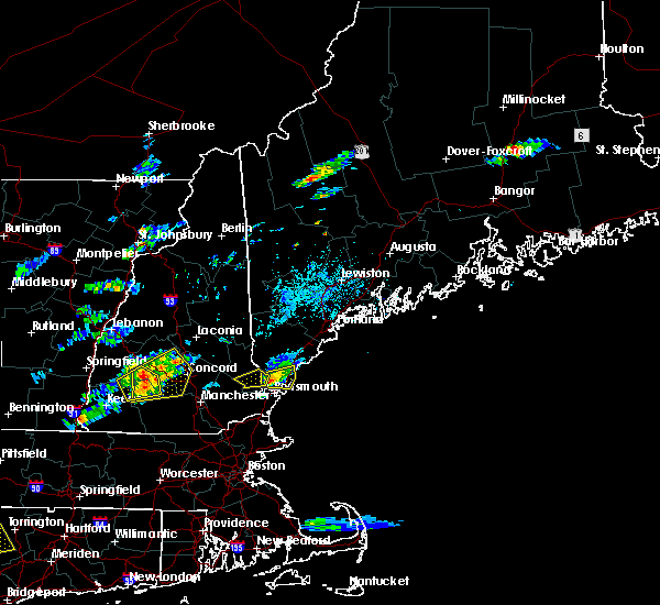 Radar Image for Severe Thunderstorms near Durham, NH at 7/28/2018 4:12 PM EDT