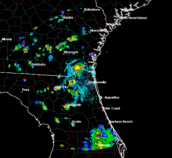 Radar Image for Severe Thunderstorms near Homeland, GA at 7/28/2018 7:11 PM EDT