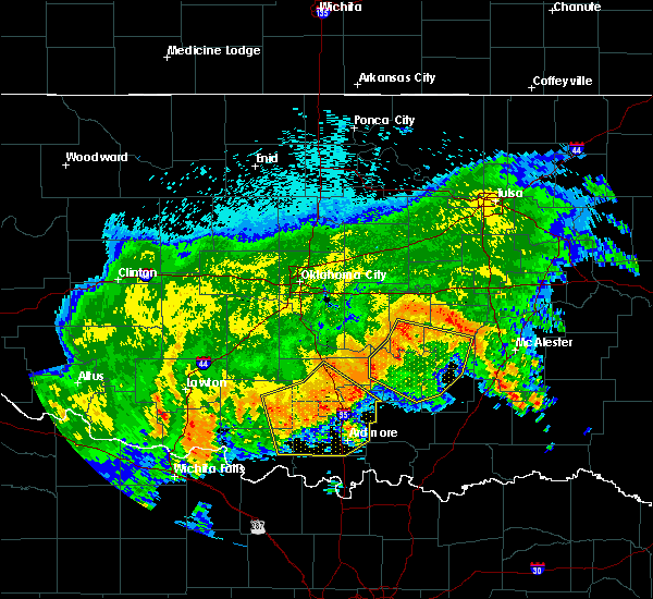 Ada Ok Zip Code Map.Interactive Hail Maps Hail Map For Ada Ok