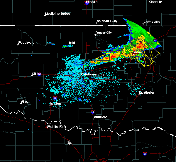 Radar Image for Severe Thunderstorms near Ripley, OK at 7/30/2018 4:03 PM CDT