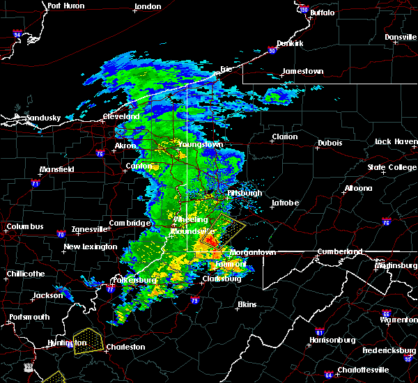 Radar Image for Severe Thunderstorms near Clarksville, PA at 7/31/2018 2:37 PM EDT