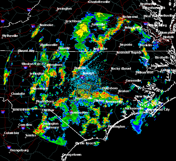 Radar Image for Severe Thunderstorms near Plain View, NC at 8/2/2018 2:30 PM EDT