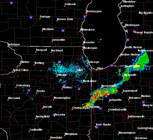 Radar Image for Severe Thunderstorms near Otterbein, IN at 8/2/2018 8:26 PM EDT
