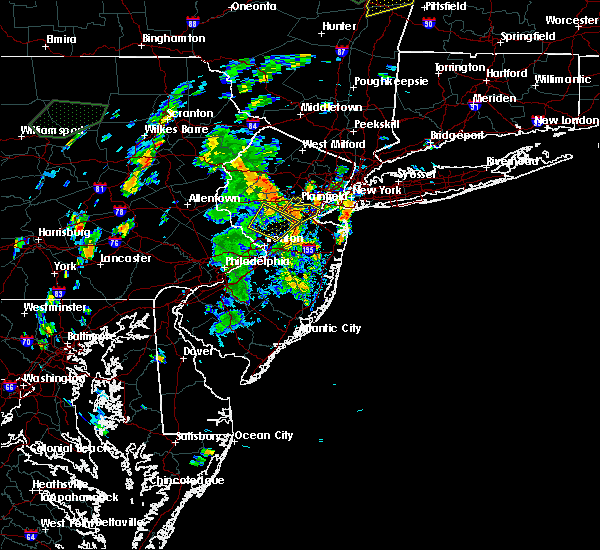 Radar Image for Severe Thunderstorms near Heathcote, NJ at 8/3/2018 2:11 PM EDT