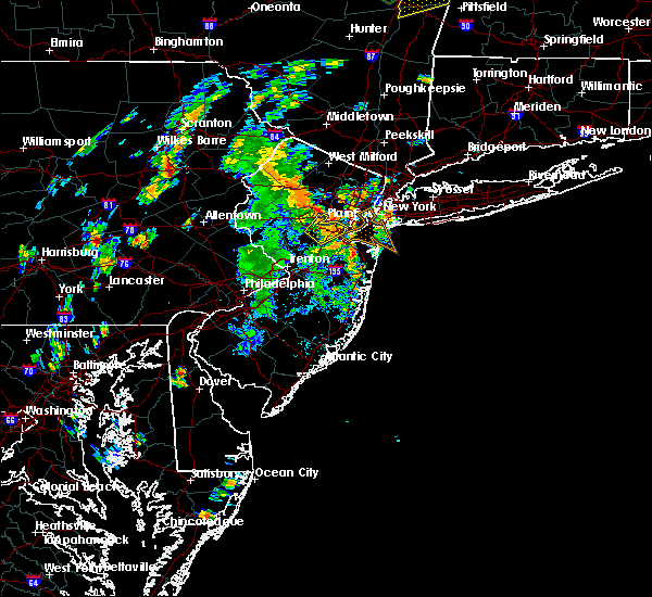 Radar Image for Severe Thunderstorms near Woodbridge, NJ at 8/3/2018 2:26 PM EDT