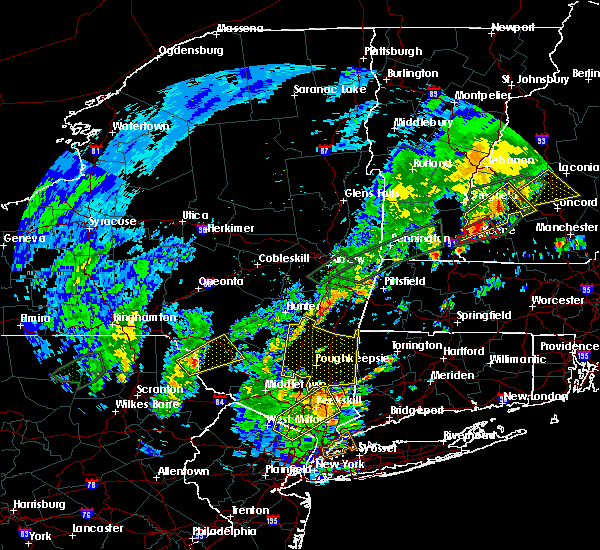 Radar Image for Severe Thunderstorms near Kingston, NY at 8/3/2018 3:39 PM EDT