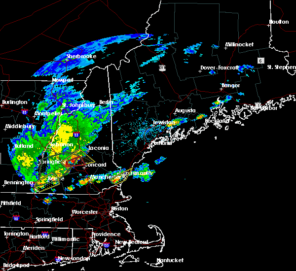 Radar Image for Severe Thunderstorms near South Eliot, ME at 8/3/2018 4:10 PM EDT