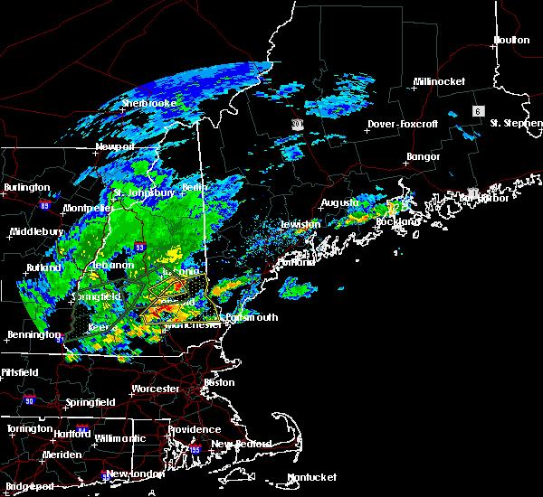 Interactive Hail Maps - Hail Map for Laconia, NH