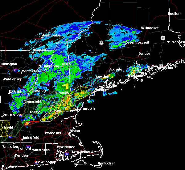 Radar Image for Severe Thunderstorms near Milton, NH at 8/3/2018 5:28 PM EDT