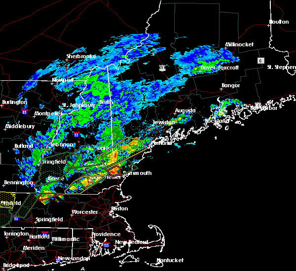 Radar Image for Severe Thunderstorms near South Eliot, ME at 8/3/2018 5:46 PM EDT