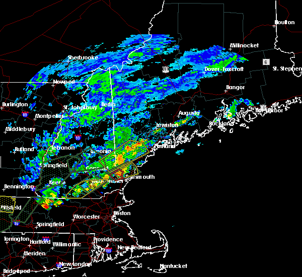 Radar Image for Severe Thunderstorms near South Eliot, ME at 8/3/2018 5:53 PM EDT