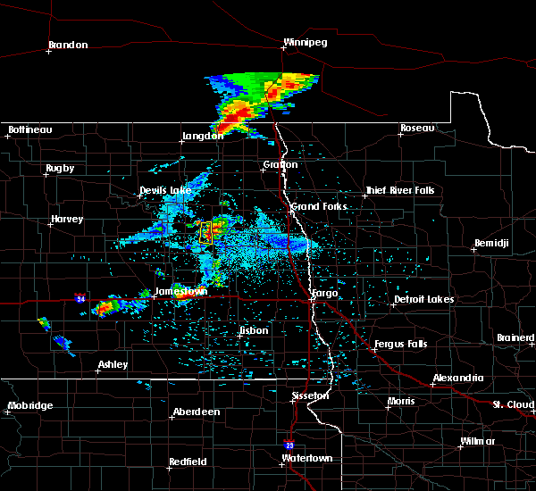 Radar Image for Severe Thunderstorms near Sharon, ND at 8/4/2018 8:11 PM CDT