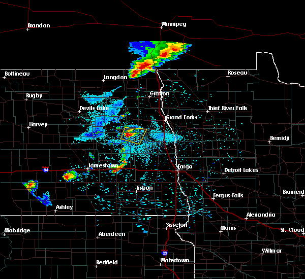 Radar Image for Severe Thunderstorms near Sharon, ND at 8/4/2018 8:27 PM CDT