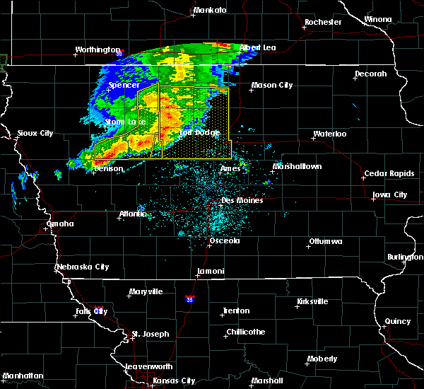 Radar Image for Severe Thunderstorms near Early, IA at 8/5/2018 4:45 AM CDT