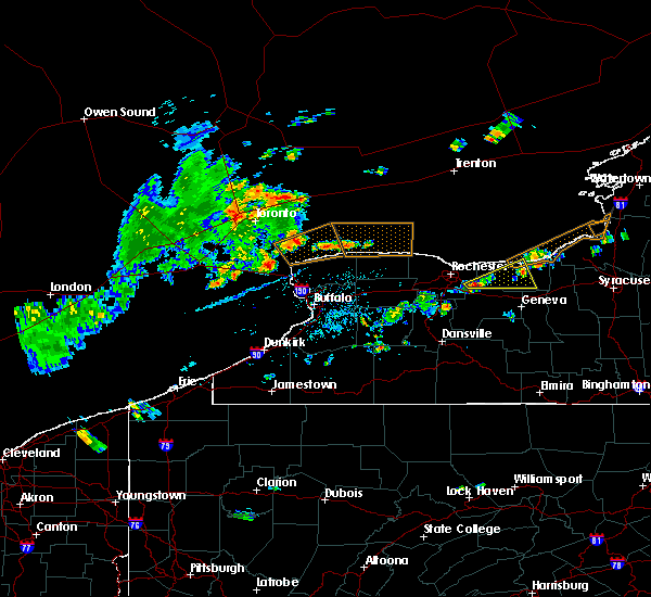 Radar Image for Severe Thunderstorms near Sodus, NY at 8/6/2018 3:20 PM EDT