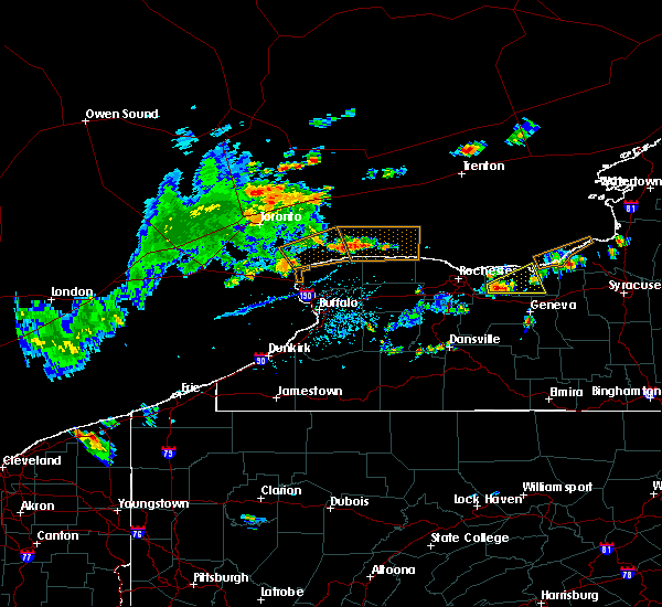 Radar Image for Severe Thunderstorms near Sodus, NY at 8/6/2018 3:37 PM EDT