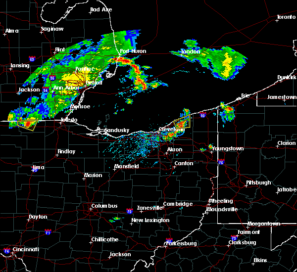 Radar Image for Severe Thunderstorms near Grand River, OH at 8/6/2018 4:52 PM EDT