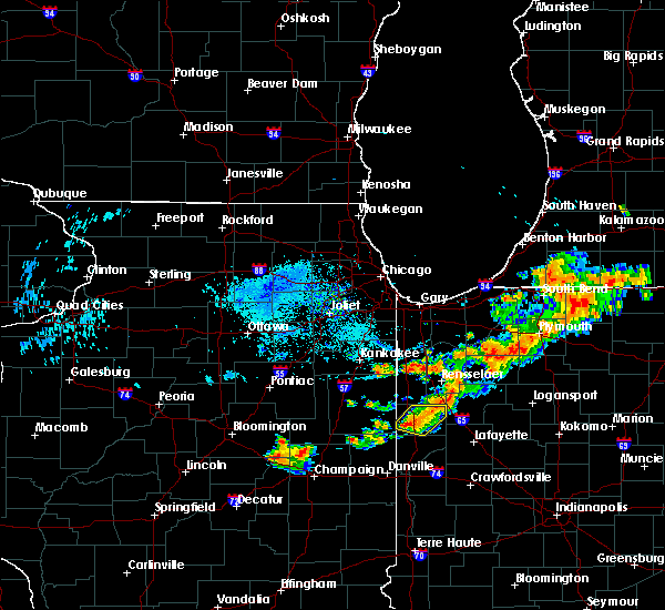 Radar Image for Severe Thunderstorms near Earl Park, IN at 8/6/2018 7:47 PM EDT