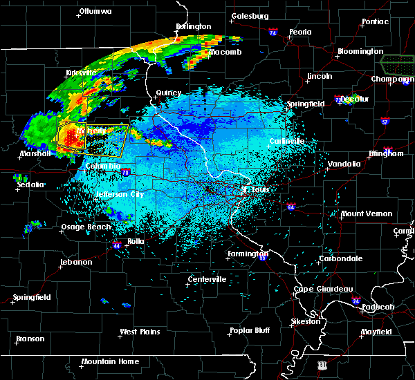 Radar Image for Severe Thunderstorms near Clark, MO at 8/6/2018 11:46 PM CDT