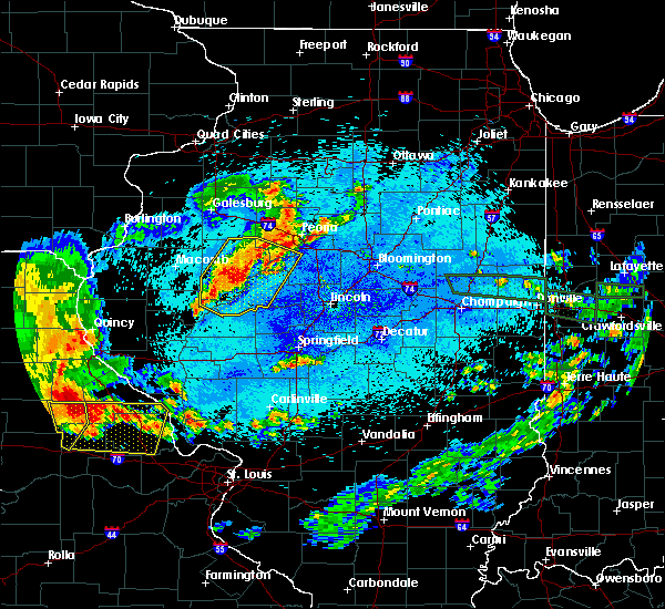 Radar Image for Severe Thunderstorms near Dunfermline, IL at 8/7/2018 1:02 AM CDT