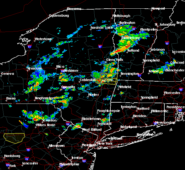 Radar Image for Severe Thunderstorms near Rotterdam, NY at 8/7/2018 2:49 PM EDT