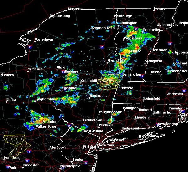 Radar Image for Severe Thunderstorms near Rotterdam, NY at 8/7/2018 3:16 PM EDT