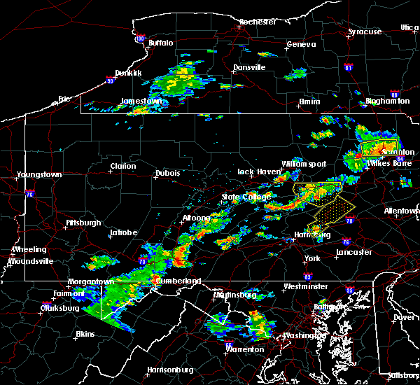 Radar Image for Severe Thunderstorms near Palmyra, PA at 8/7/2018 3:19 PM EDT