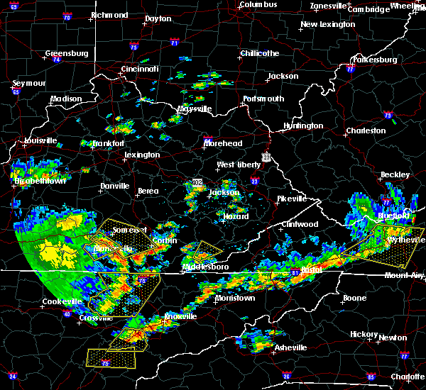 Radar Image for Severe Thunderstorms near Eubank, KY at 8/8/2018 2:30 PM EDT
